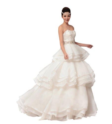 Passat Women'S Maternity Pregnant Wedding Dresses Size Us26 Color White