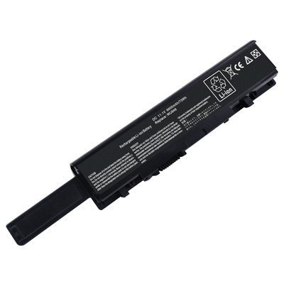 Laptop Battery for Dell Studio 1558, 9 cells 6600mAh Black