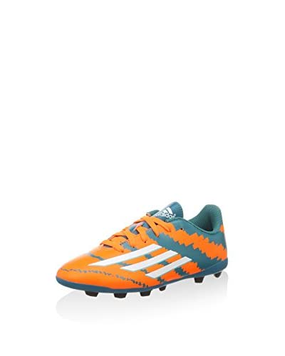 adidas Zapatillas de fútbol Messi 10.4 Fxg Junior Naranja / Verde