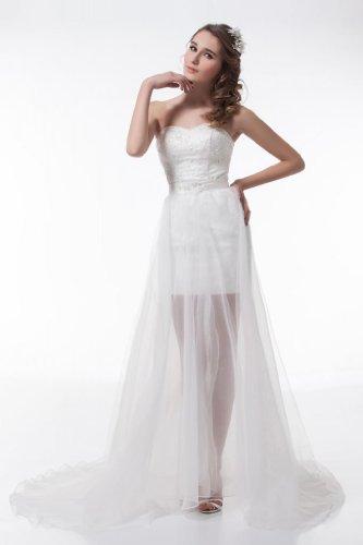 save george bride robe de mariee avant gardiste courte