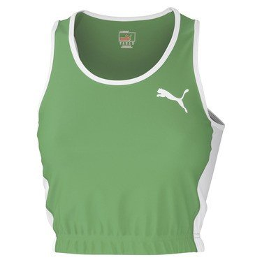 Puma TB_Running_Crop Top W - classic green