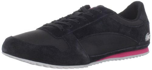 Lacoste Vallareta Women's Athletic Tennis Shoes Black Size 8