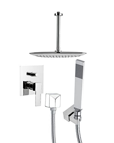 Remer By Nameek's Shower Set, Chrome