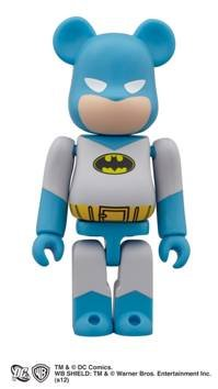 SDCC 2012 Exclusive: Batman Bearbrick Kubrick Figure