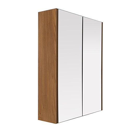 premier-housewares-2403292-armoire-murale-avec-2-portes-effet-chene-miroir