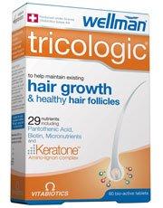 Vitabiotics Wellman Tricologic Hair Growth Tablets  60 Tablets