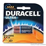 DURACELL MX2500B2PK Non-rechargeable Battery, Alkaline, 1.5 V, AAAA, Raised Positive and Flat Negative (5 pieces)