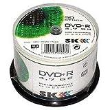 Sk dvd + spazii bianco 50 r 4,7 gb mandrino