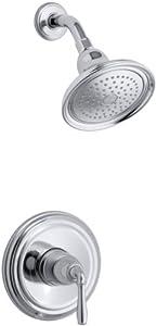 Kohler K-T396-4-CP Devonshire Rite-Temp Pressure-Balancing Shower Faucet Trim (Polished Chrome)