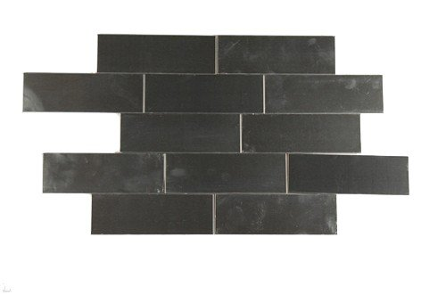 Stainless Steel 2 X 6 Metal Tiles Sold By The Square Foot (12 Pieces)