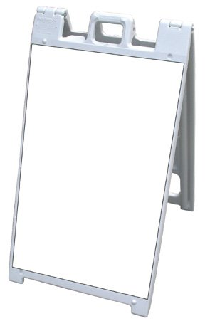 NEOPlex 25 x 45 Plasticade Signicade Sidewalk Sandwich Board A-frame w White Corrugated Plastic Insert PanelsB001D1GXHO