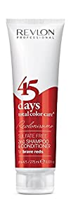 Revlon Revlonissimo 45 Days 2in1 Shampoo & Conditioner Brave Reds 275ml