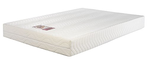 Concept Memory Sleep Comfort Soft Foam Mattress - Double (Luxury Quilted Zip-Off Cover), Fabric, Multicolour