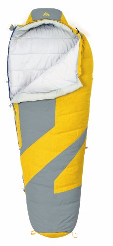 Kelty Light Year 40 Degree Down Sleeping Bag, Regular , Lemon