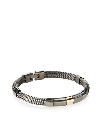 BlackJack Stainless Steel Cable Bracelet
