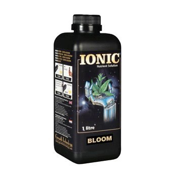 Ionic Hydro Bloom State of the art top boost nutrition for plants in all types of hydroponic systems