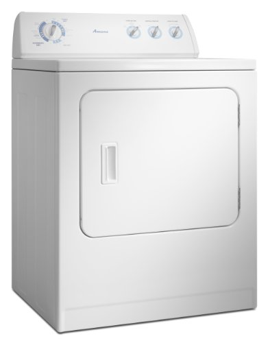 Amana 6.5 Cubic Foot Traditional Gas Dryer, NGD4800VQ, White