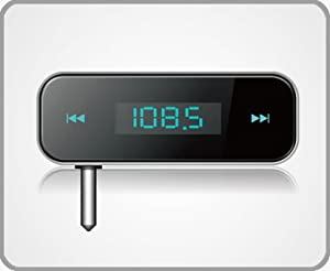 Build-in Battery Audio FM Transmitter For IPhone 5/ IPod/ IPhone 4/ iphone 3GS/ MP3 /all 3.5mm audio socket