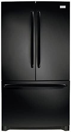 Frigidaire FFHN2740PE 26.7 Cu. Ft. Black French Door Refrigerator - Energy Star
