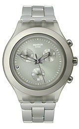 Swatch Full-Blooded Smoky Sand Chrono Men's watch #SVCG4000AG
