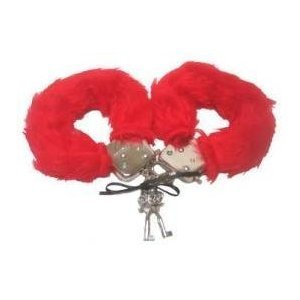 Furry Love HandCuffs RED OR BLACK