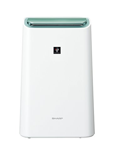 sharp dehumidifier. sharp plasma cluster mounted dehumidifier white cv-df100-w sharp o
