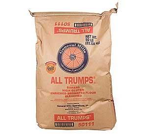Amazon.com : 50lb General Mills All Trumps Flour : Bread
