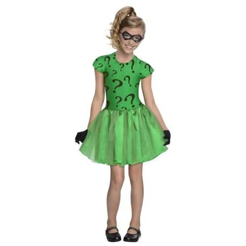 Amazon.com: DC Super Villain Collection Riddler Girl's Costume with