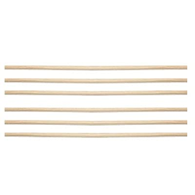 Pool Table Wood Feather Strips - Set of 6.