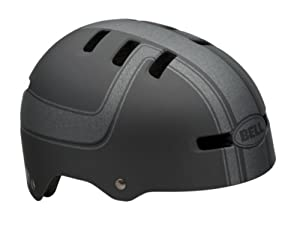 Bell Fraction Youth Multi-Sport Helmet (Titanium, Charcoal Boss, X-Small)