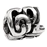 Silverado 'Cool Girl' Silver Charm - Fits On Pandora Chamilia And Troll Bracelets
