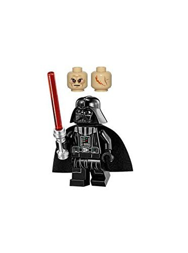 LEGO Star Wars Minifigure - Darth Vader with Tan Head & Red Lightsaber Imperial Star Destroyer (75055) by LEGO