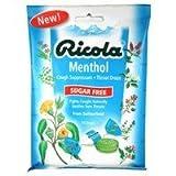 Ricola Sugar Free Menthol Cough s 19 s by Ricola