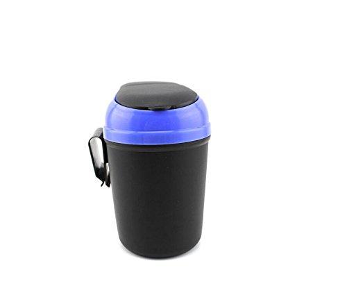 funplaza car trash can auto garbage bin motor vehicle inside disposal removable hook new blue. Black Bedroom Furniture Sets. Home Design Ideas