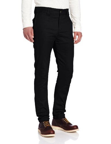 Dickies Men's Slim Skinny Fit Work Pant, Black, 30x30 (Skinny Dress Pants compare prices)