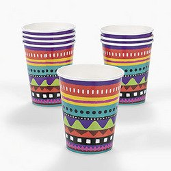 FIESTA 9OZ CUPS (8 PIECES)