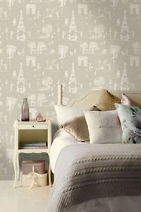 Holden Parisienne Wallpaper - Taupe from New A-Brend