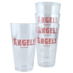 MLB Plastic Pint Glass Set