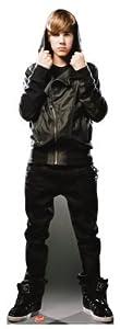 Justin Bieber Bh Cardboard Lifesize Standup Poster