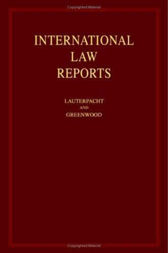 International Law Reports (Volume 131)