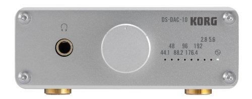 KORG コルグ 1bit USB DAコンバータ DS-DAC-10-SV シルバー