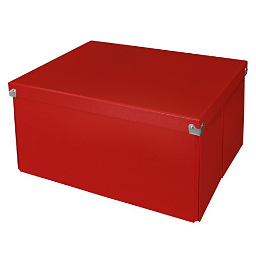 Pop n' Store Decoratiive Storage Box with Lid ...