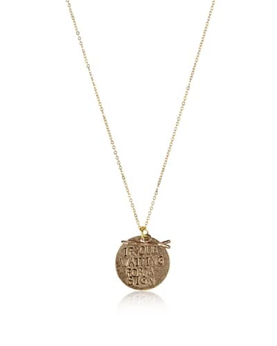 Alisa Michelle If You Are Waiting For a Sign Necklace