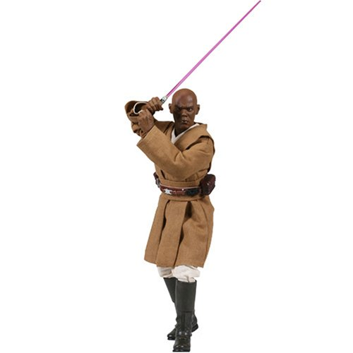 Buy Mace Windu 12 inch Action Figure featuring Samuel L Jackson