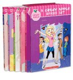 img - for Candy Apple Boxed Set, Books 1-5: The Accidental Cheerleader, The Boy Next Door, Miss Popularity, How to Be a Girly Girl in Just Ten Days, and Drama Queen book / textbook / text book