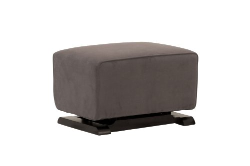 babyletto Kyoto Ottoman, Slate Suede