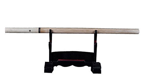 Cyber Monday Sale - Fully Functional Samurai ZatoicHi Stick Katana, 1045 Carbon Steel, Hand Forged Heat Tempered, Full Tang, Sharp, Nature Wood Scabbard and Handle