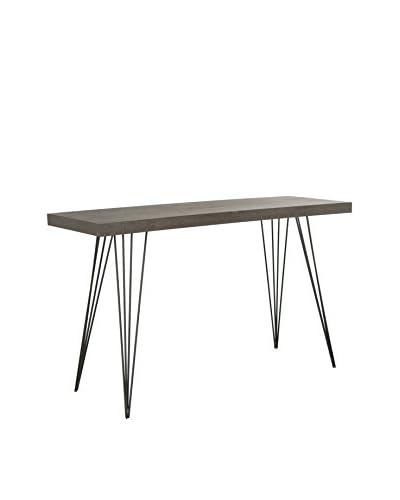 Safavieh Wolcott Console Table, Dark Brown/Black