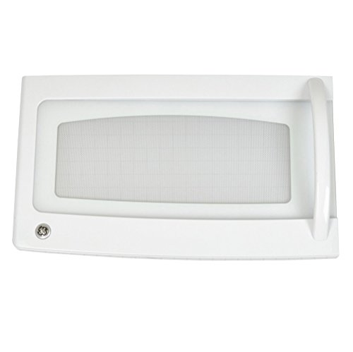 Ge Wb56X10723  Microwave Door Assembly, White