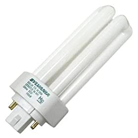  Sylvania 20882 - CF26DT/E/IN/841 - 26 Watt Triple Tube Compact Fluorescent Light Bulb, 4100K
